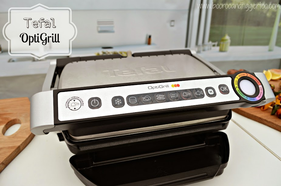 Boo Roo and Tigger Too: Tefal OptiGrill Review