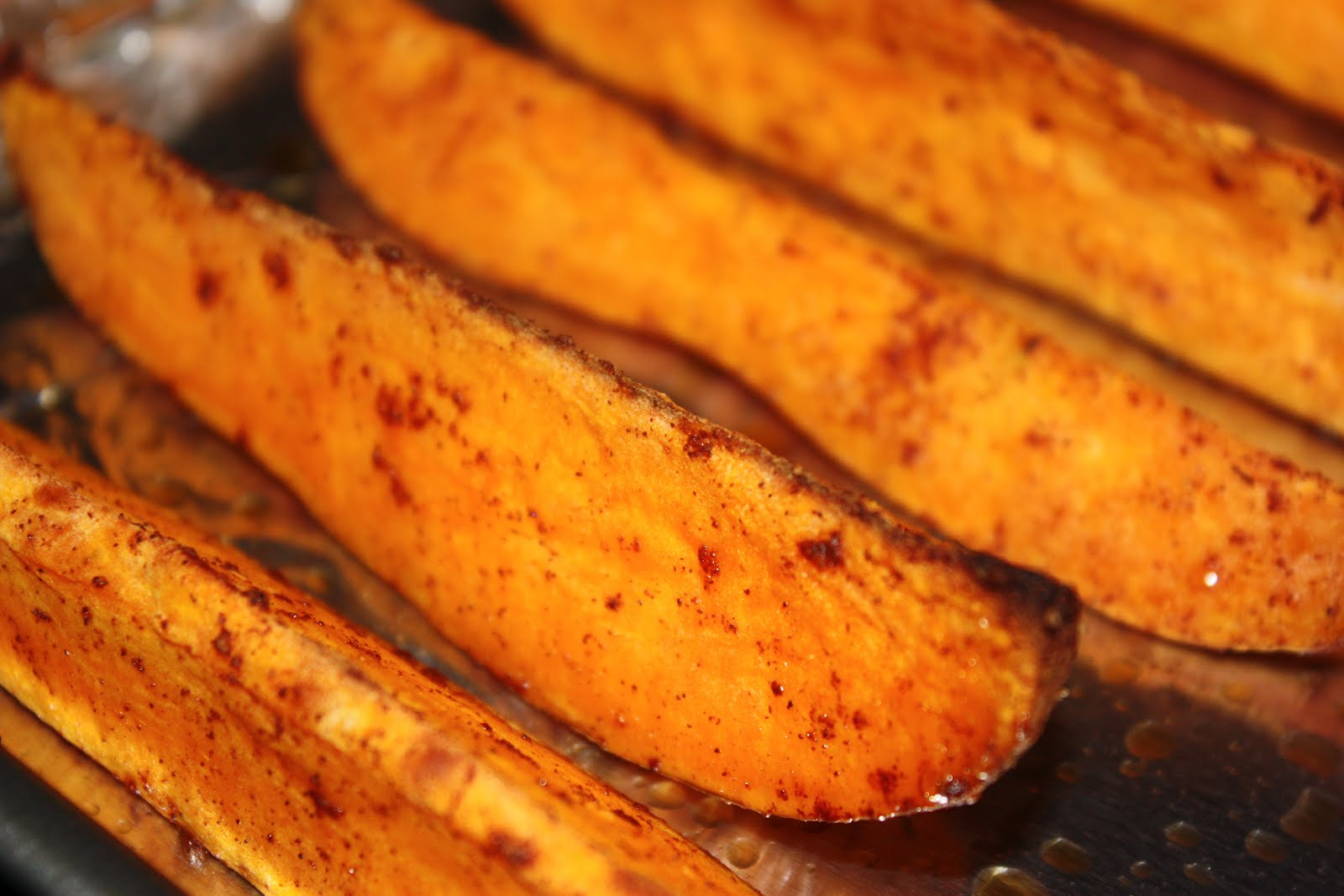 Southern Living Yankee: Oven Baked Sweet Potato Wedges