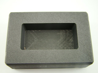 100 Gram Ag Silver Bar High Density Graphite Ingot Mold Loaf Rectangle (B51)