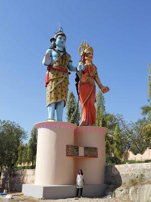 Shiva och Parvati