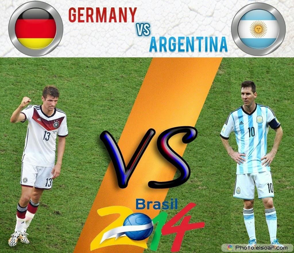 Germany vs Argentina Final Match FIFA World Cup 2014 Brazil