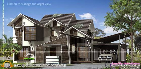 Ultra contemporary house