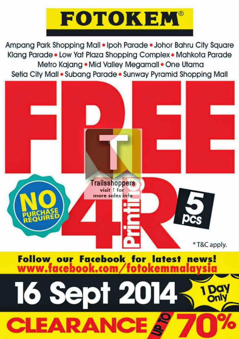 12 Fotokem Malaysia Oulets Clearance offer