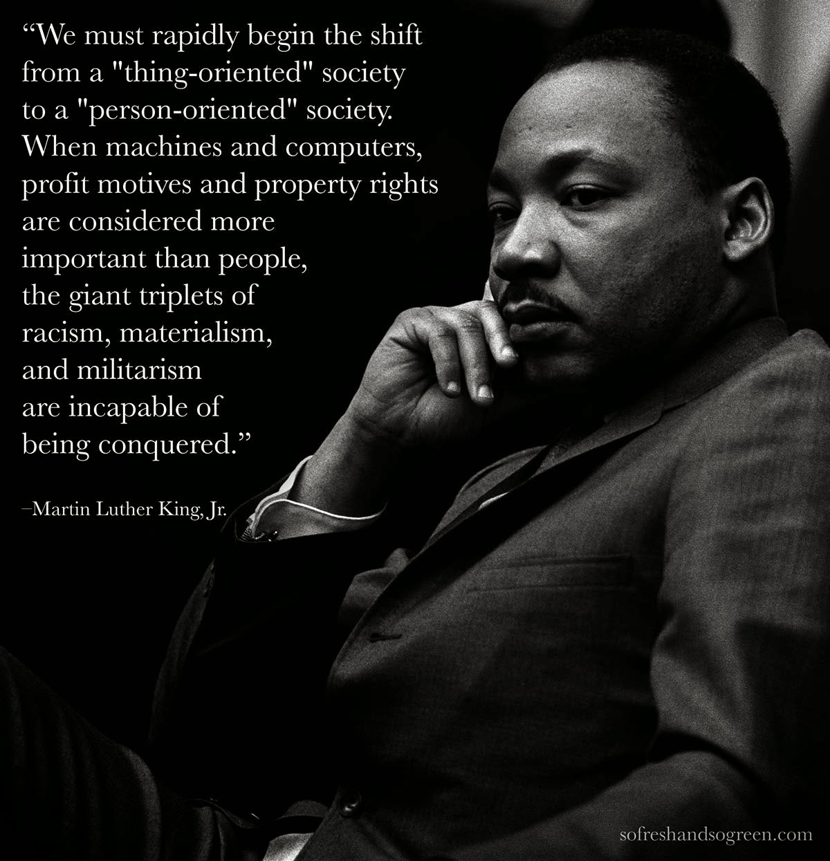 racial discrimination experienced by martin luther king jr Fighting for dr king's unrealized dream  print reverend martin luther king, jr  an unimpeded right to vote and protection from racial discrimination.