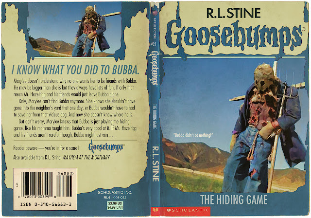Goosebumps Book Cover Template ~ The horrors of halloween november