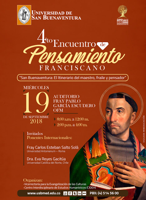 Encuentro Anual de Pensamiento Franciscano y Culturas