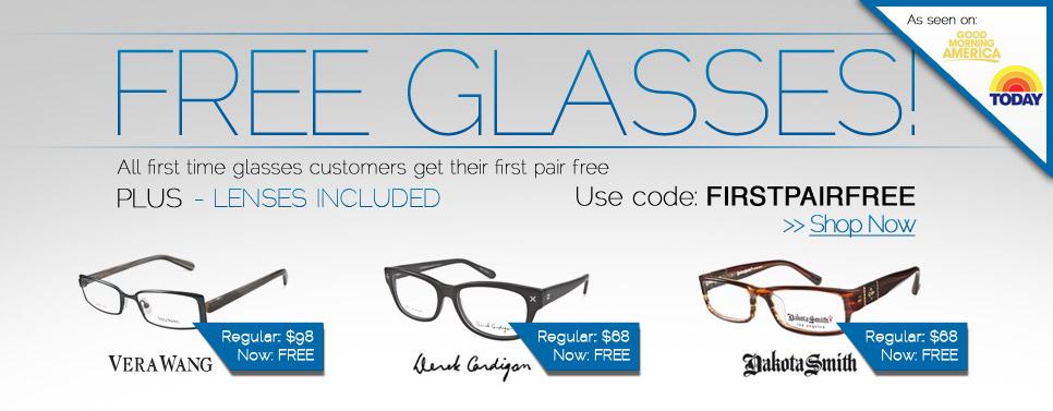 53aee26fcb FREE Pair of Eyeglasses (Frames   Lens) at Coastal.com - Limited Time Offer