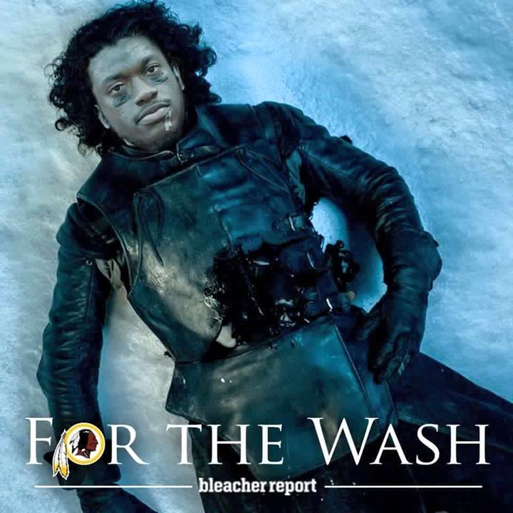 For the wash. bleacher report. #rgIII #rg3 #nfl