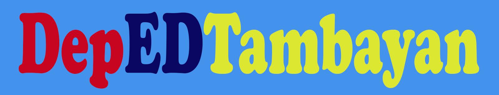DEPED TAMBAYAN HOME