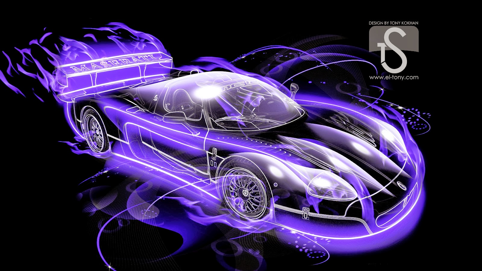 Fire 3d Wallpapers Of Cars For Desktop