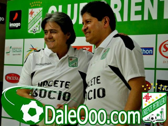 Oriente Petrolero - Jose Ernesto Álvarez - Eduardo Villegas - DaleOoo.com pagina del Club Oriente Petrolero