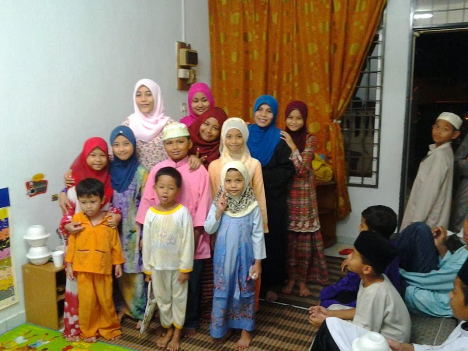 Anak Mengaji Batch Kedua dan Ketiga Februari 2013 (Perempuan)