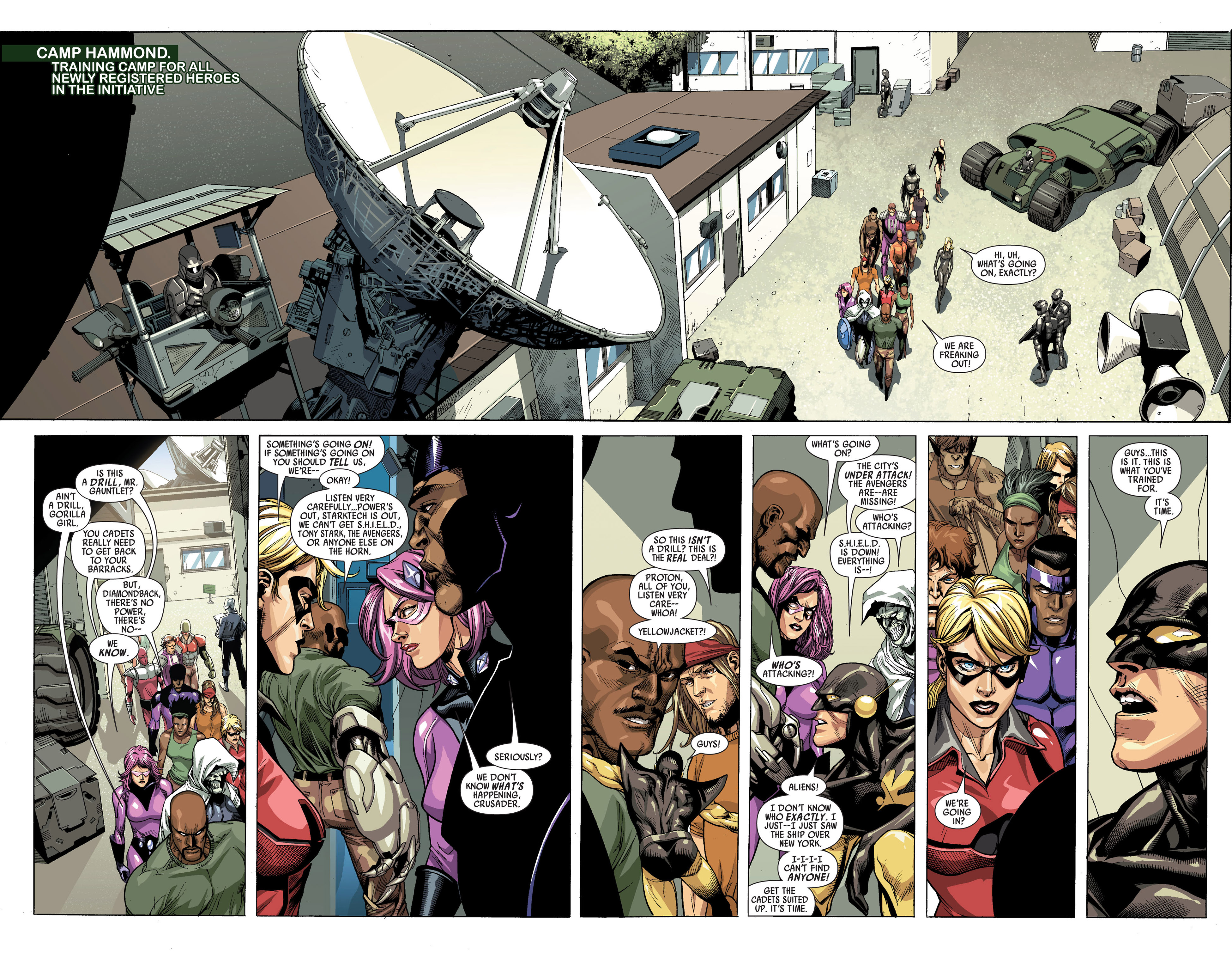 Read online Secret Invasion comic -  Issue #3 - 6