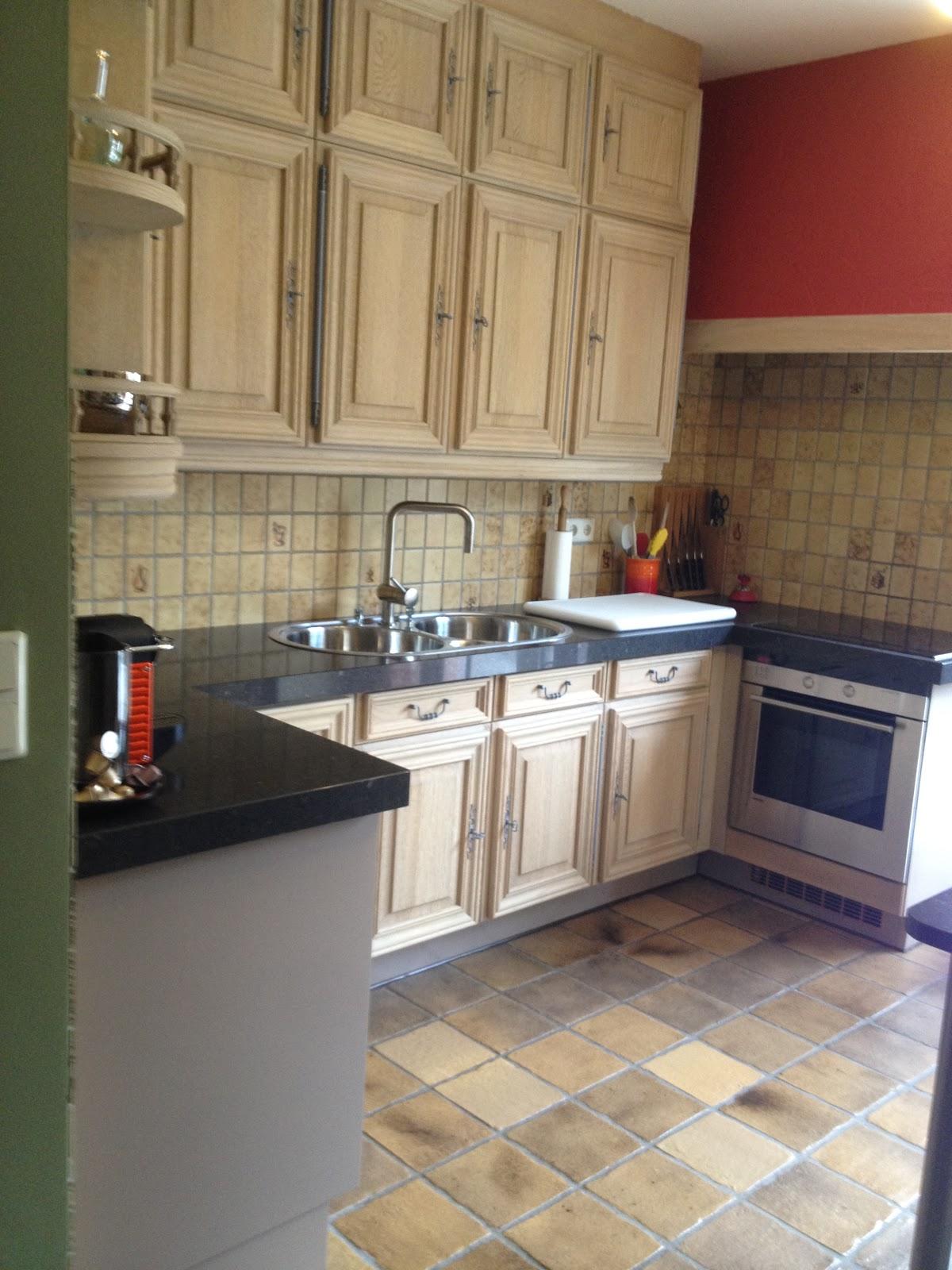 Keuken Laten Zandstralen : Zandstralen, vernieuwen, beitsen en vernissen van eiken keuken uit