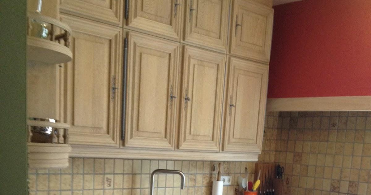 Renovatie van eiken keukens Zandstralen, vernieuwen
