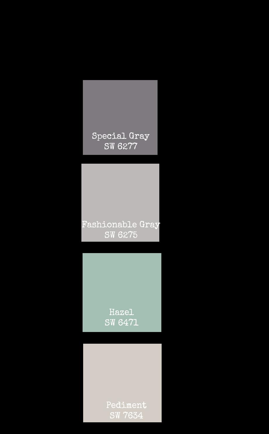 Main Floor Paint Colors