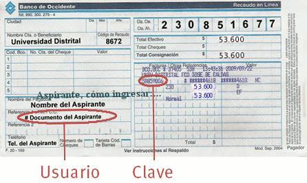 Comprobante de Pago Inscripción UD