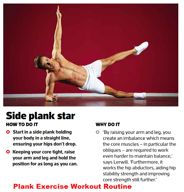 Side Star Plank Exercise