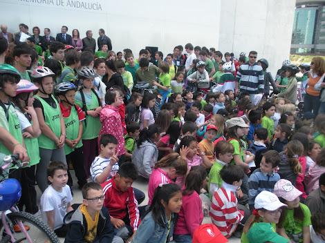 Marcha por la Vega de Granada