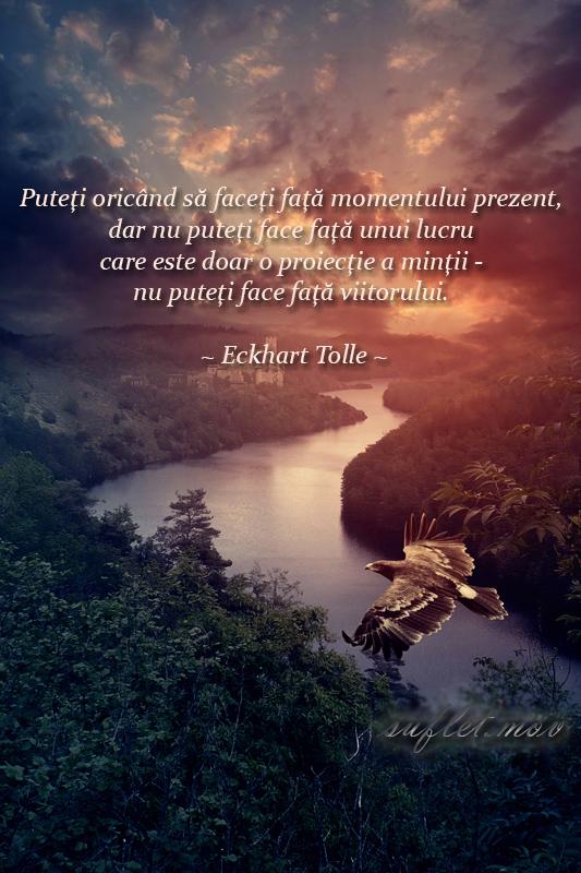 viitorul, Eckhart Tolle