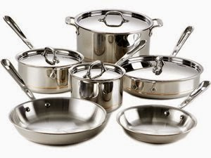 All-Clad 10-pc. Copper Core Cookware Set · All-Clad 10-pc. Copper Core Cookware Set