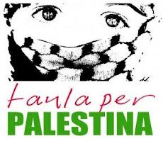 Resultado de imagen de Taula per Palestina