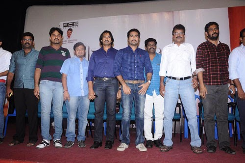 Thottal Thodarum Movie Press Meet Photos