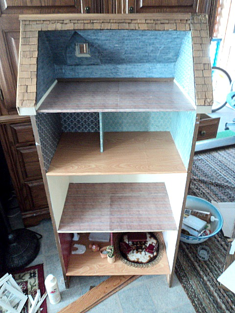 Where The Gnomes Live Dresser Turned Dollhouse Recycle