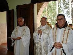 ABERTURA OFICIAL DO CAPITULO PROVINCIAL - 2012 - PROVINCIA FRANCISCANA DE SANTO ANTONIO DO BRASIL.