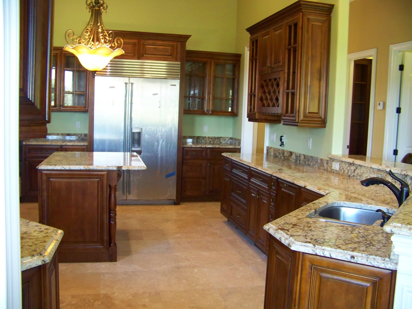 Kitchen Cabinets Amp Granite Wood Cabinets Vs Particle Board