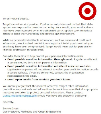 Click to view this Apr. 4, 2011 Target email full-sized
