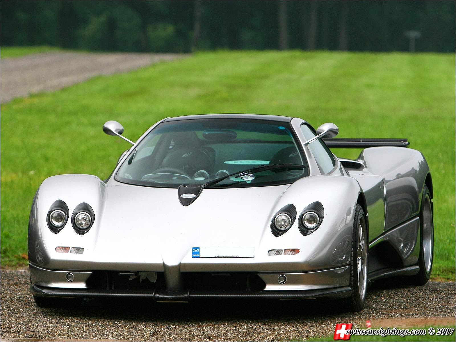 prototype 0 pagani zonda gj updated and put for sale. Black Bedroom Furniture Sets. Home Design Ideas