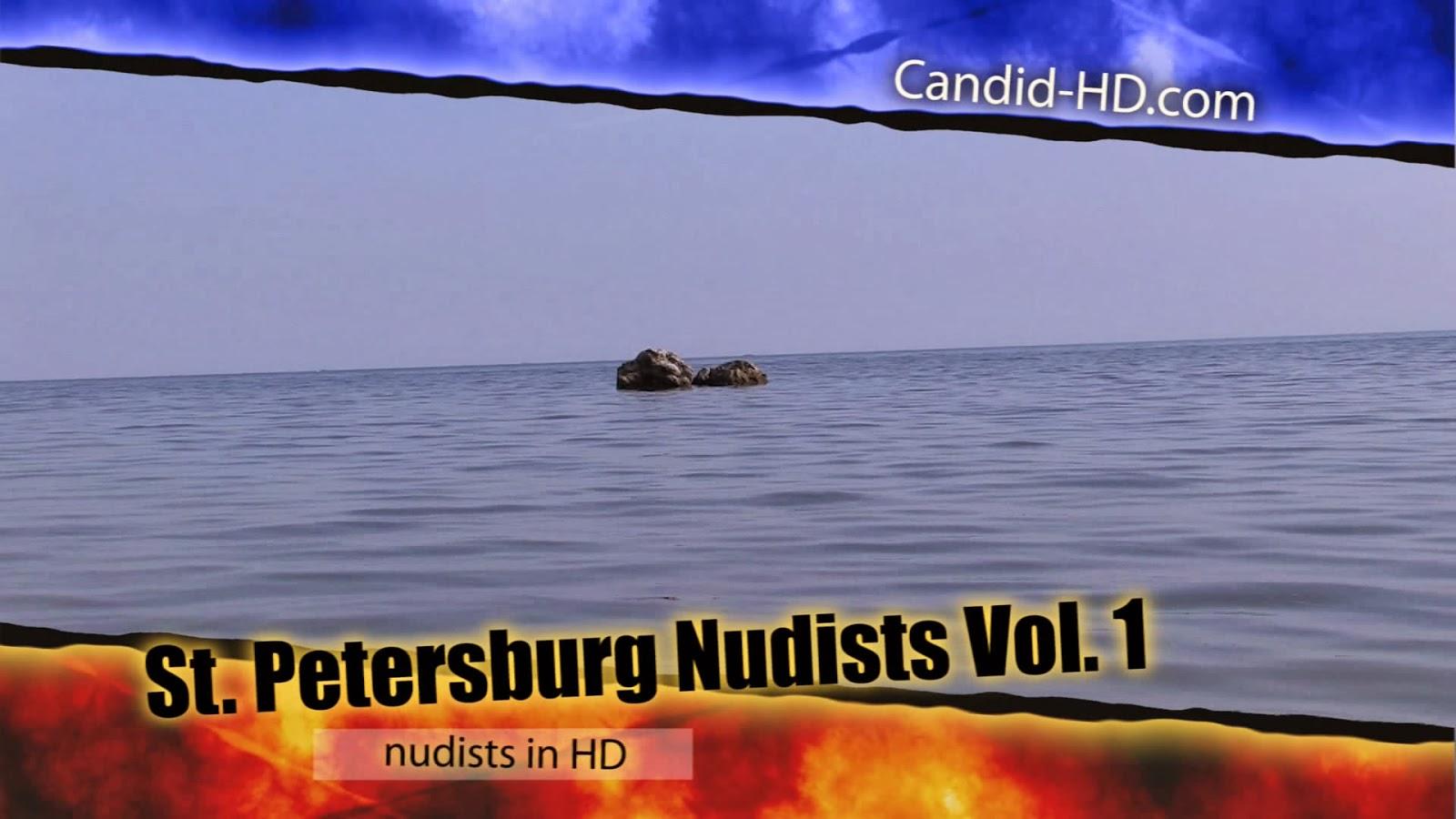 Нудистки Санкт-Петербурга 1 / St. Petersburg Nudists 1. FULL HD.
