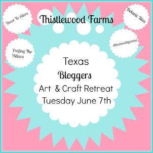 Texas Bloggers Art & Craft Retreat