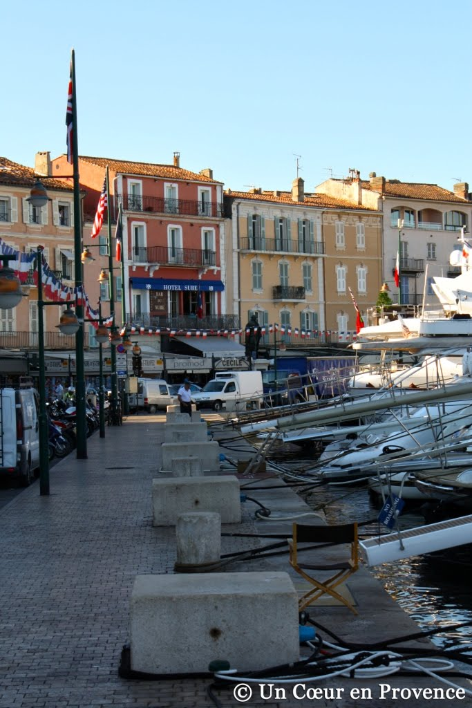 Le port de Saint-Tropez