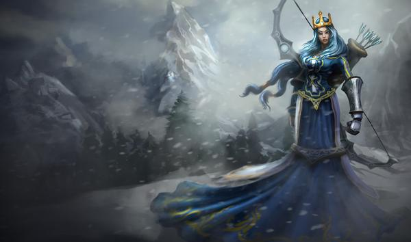 P.O League Of Legends Champs And Skins 1647563-ashe_queen_super