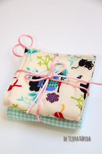 tutorial toalla para bebe