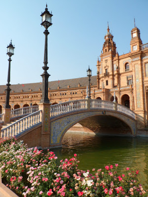 Plaza de Espana in Seville, Southern Spain