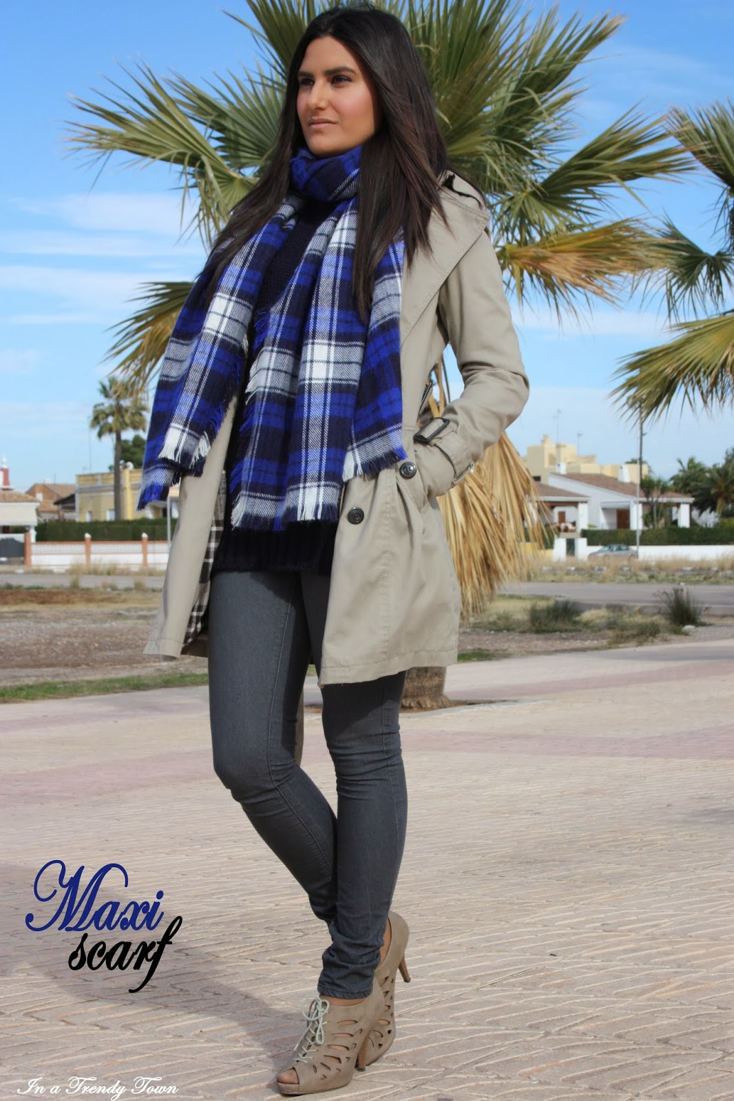 Outfit: Maxi-scarf