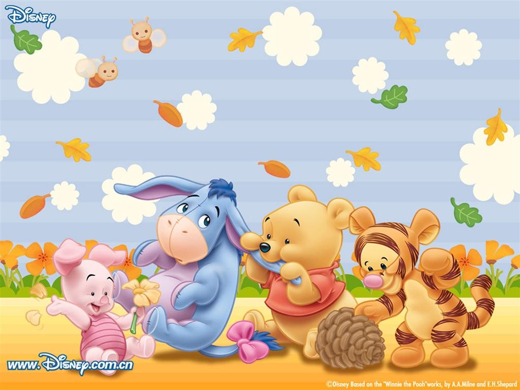 CFG Free Game: 可愛圖案 Winnie the Pooh Wallpaper 1 小熊維尼電腦桌布 1