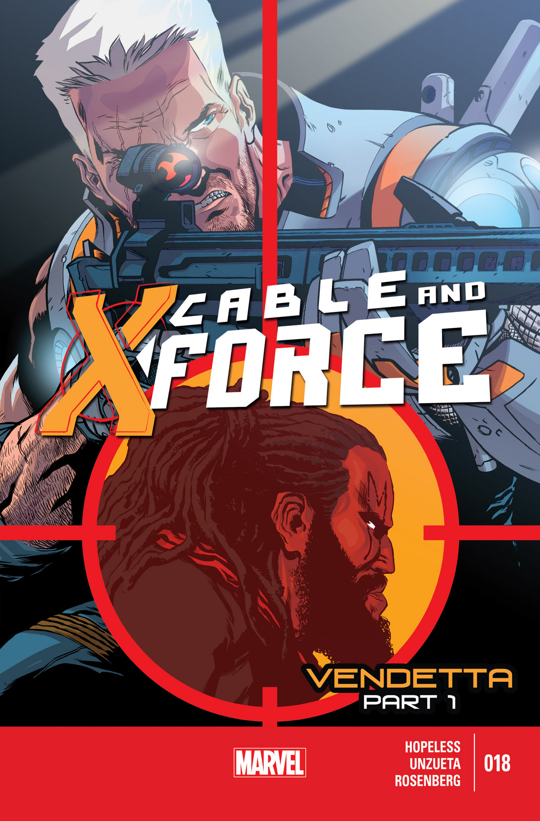 Cable and X-Force issue 18 - Page 1