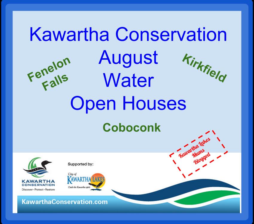 Kawartha Lakes Water Conservation Open houses Coboconk Kirkfield Fenelon Falls
