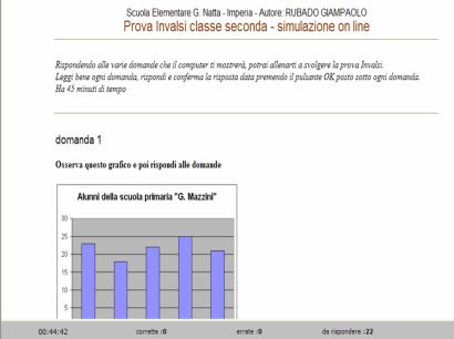Verifiche matematica scuola primaria simulazione on line for Simulazione test scienze della formazione primaria