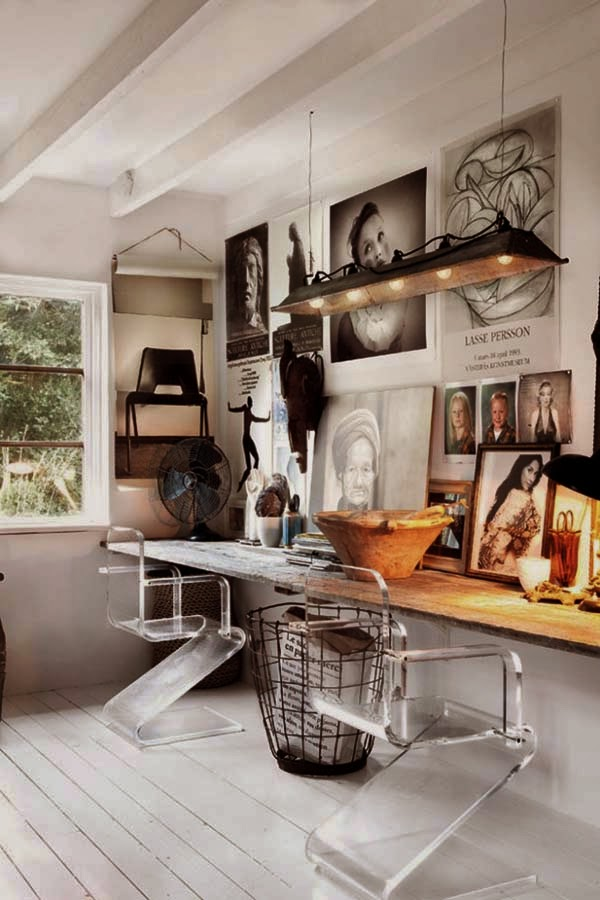 Interiors│Swedish waterfront home/lulu klein