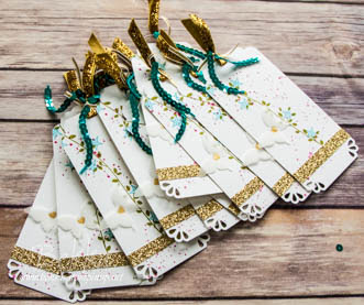 Floral Wings Gift Tags for the Stampin Super Stars - Get the details here