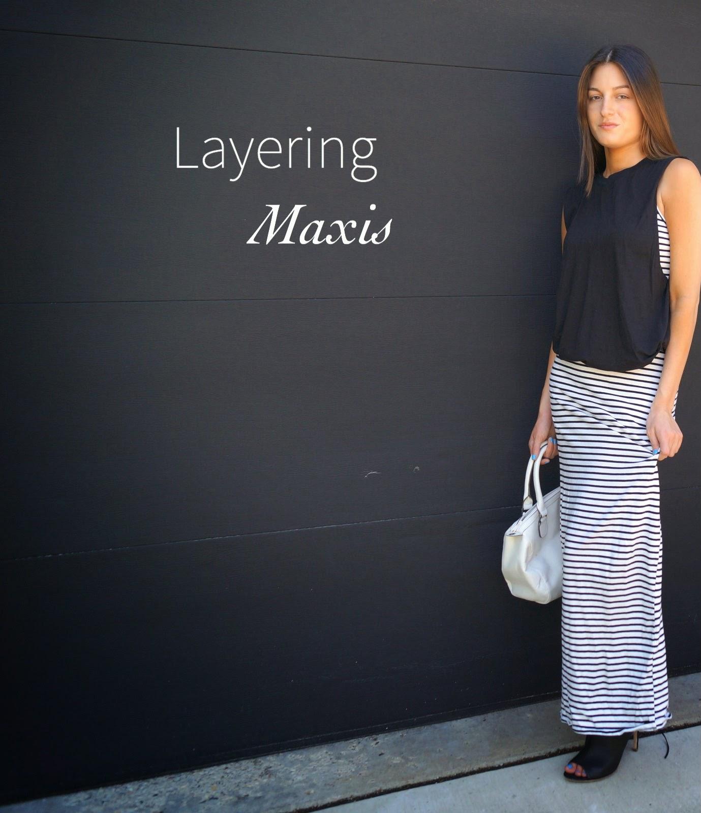 Layering Maxis