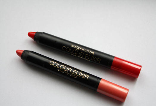 The Extras: Max Factor Colour Elixir Giant Pen Sticks