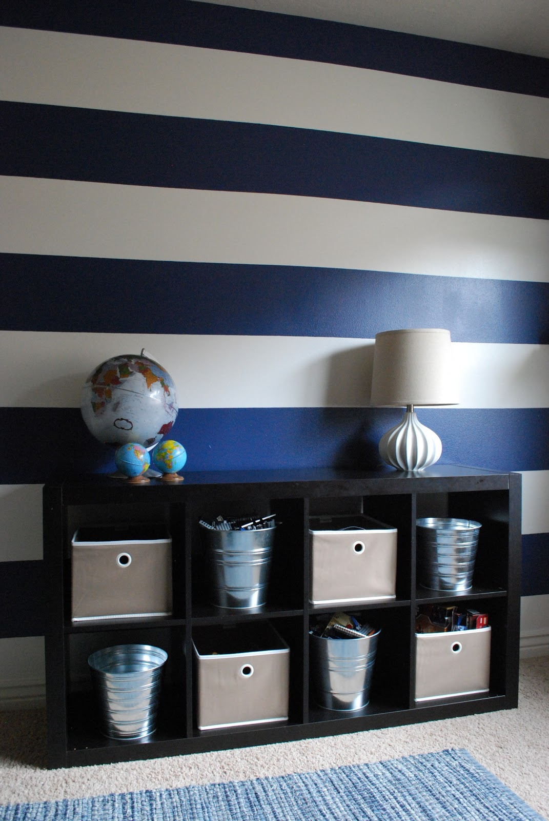 The Shabby Nest Scotch Blue Painting Party A Striped
