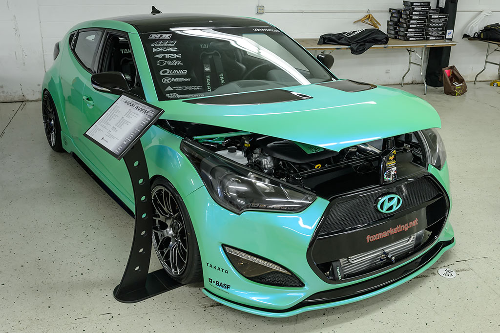 Fox Marketing's 2014 Hyundai Veloster Turbo