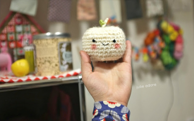 pomme au crochet